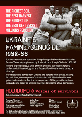 Holodomor: Voices of survivors