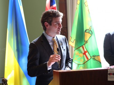 SPEECHES BY PREMIER KATHLEEN WYNNE AND MPP YVAN BAKER AT THE HOLODOMOR EDUCATION RECEPTION AND LEGISLATIVE ASSEMBLY AT QUEEN'S PARK IN TORONTO