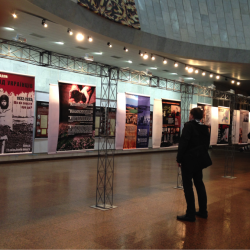 Kyiv- Ukrainian National Building, Holodomor Exhibit, November 2013