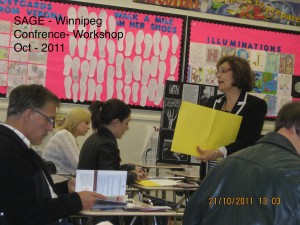 SAGE – Special Area Groups of Educators – Conference – Social Studies, two workshops – Elementary and Secondary