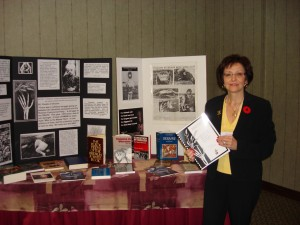 """Ontario History and Social Studies Teachers Association Confrence (OHASSTA) – Nov 2008, located in Toronto Ontario. Workshop heald on """"The Unknown Genocide"""" – Presented by Valentina Kuryliw."""