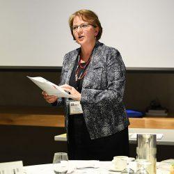 Nadia Prokopchuk presenting her Senior methodology workshop
