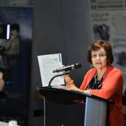 Valentina Kuryliw, HREC Director of Education, presenting teaching resources