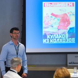 Jeff Kozak presenting his Middle Years methodology workshop