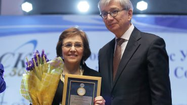 Valentina Kuryliw an official honoree of the St. Volodymy...