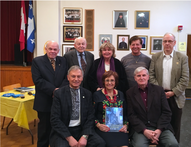 formal book launch for Holodomor In Ukraine was held at St. Sophie Ukrainian Orthodox Cathedral on Boulevard Saint- Michel