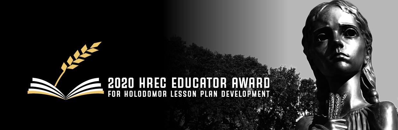 2020 HREC Educator Award for Holodomor Lesson Plan Development