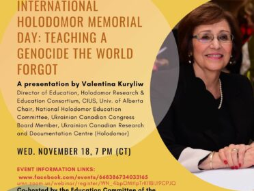 In commemoration of International Holodomor Memorial Day: Teaching a Genocide the World Forgot