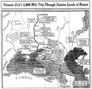 Rhea Clyman's travel map