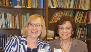 Val Noseworthy and Valentina Kuryliw, Educators.