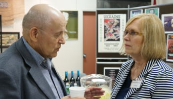 Prof. Roman Serbyn and Educator, Val Noseworthy