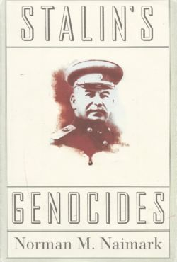 Naimark, Norman M., Stalin's Genocides, Princeton University Press, Princeton, 2010. Between the early 1930s and his death in 1953, Joseph Stalin had more than a million of his own citizens executed. Millions more fell victim to forced labor, deportation, famine, bloody massacres, and detention and interrogation by Stalin's henchmen. Stalin's Genocides is the chilling story of these crimes. The book puts forward the important argument that brutal mass killings under Stalin in the 1930s were indeed acts of genocide and that the Soviet dictator himself was behind them.
